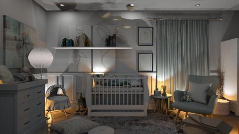 Hush baby hush - Kids room  - by zarky