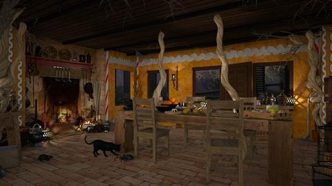 Design 443 Waiting for Hansel and Gretel - Kitchen  - by Daisy320