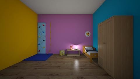 zabavny pokoj - Kids room  - by Nelinka D