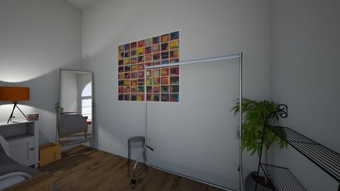 The Orange Room - Bedroom - by Beatone