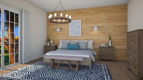 country bedroom 4 - Country - Bedroom  - by nuray kalkan