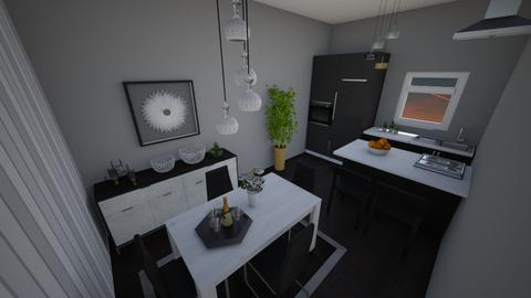 first dining room - Kitchen - by Ankica Radivojevic