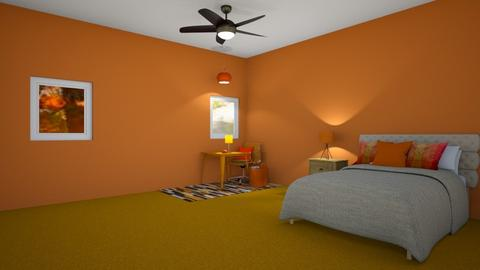 Autumn bedroom - by cb28026