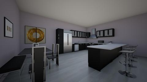 Kitchen Room - Kitchen  - by Evelyn Cisneros
