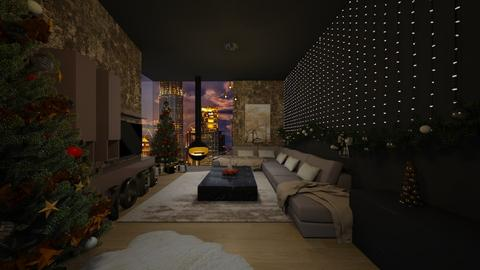 christmas living - Living room - by Vlad Silviu