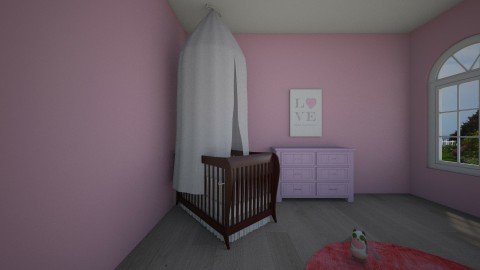 Baby Girls Room - by Tiannab24