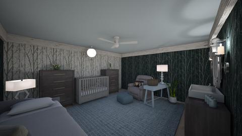 SURPRISE BABY NURSERY - Kids room  - by KitchenFirUs