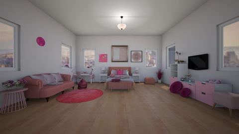 Pink Bedroom - Bedroom - by Isolda2207