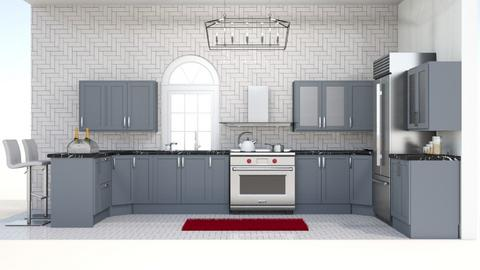 kitchen 2 - Kitchen  - by AnnaR_Klayerar123