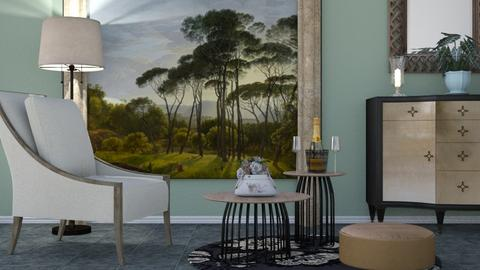 M_ Italian landscape - Eclectic - Living room  - by milyca8