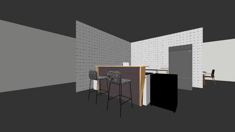 Eichler Kitchen Current - Kitchen  - by hardym
