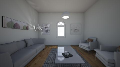 Asymmetrical Roomstyle  - Living room  - by sphannara
