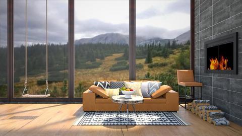 living room - Living room  - by Ulcia