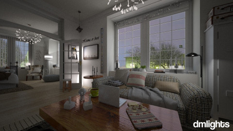 101 Reykjavik_dml - Eclectic - Living room - by DMLights-user-1109522