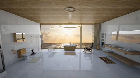 Spa By The Sea - Bathroom - by Mannon