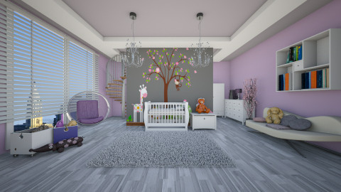 nursery - Kids room  - by ANAAPRIL