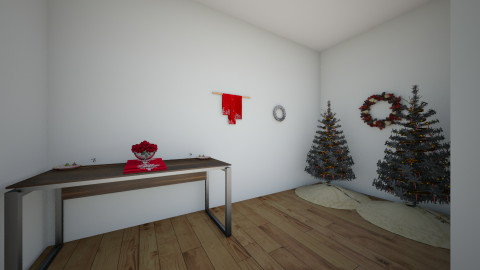Christmas - Living room - by Isabelle Broughton