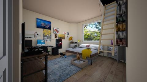 Annas Room - Modern - Bedroom - by Spooky1Fish