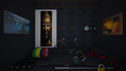 Gym - Minimal - by galacticstride