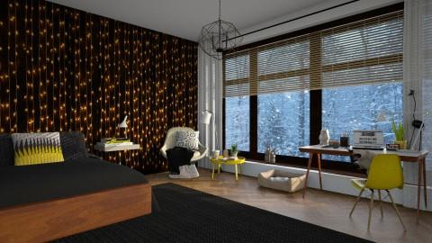 Quiet - Modern - Bedroom  - by katarina_petakovi