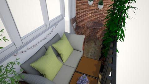 Alyssas balcony - Garden - by SDamme