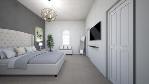 Master Bedroom Angel 3 - Modern - Bedroom - by Christine Ward_877