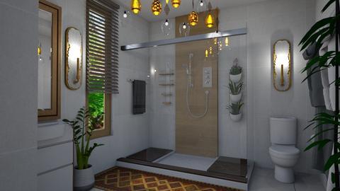 Bohemian Bath - Bathroom - by Veny Mully