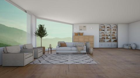 organic living  - Living room  - by ferne mcalpin
