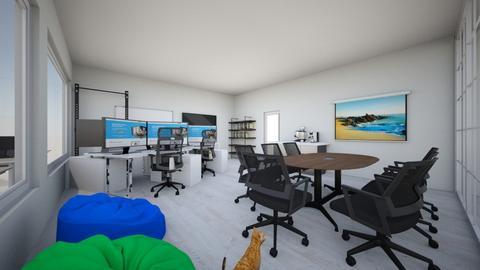 Complete office design - Modern - Office  - by dastanzhas