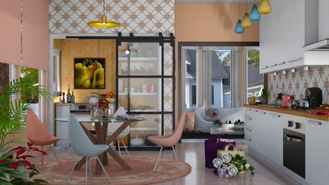 playful kitchen - by nat mi