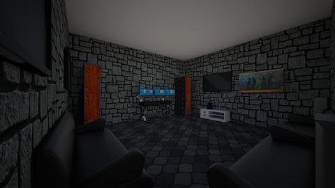 Gaming room - Modern - by KING Tank