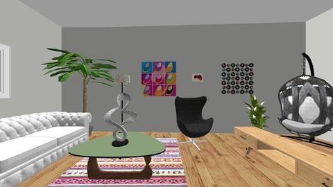 Boho Vibes  - Living room - by RosieDraws