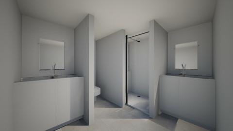 Steve Black Contemorary D - Modern - Bathroom - by emilyyyyjohnson