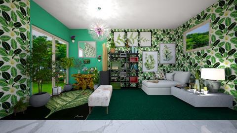 Stanza Delle Piante - Living room  - by Sara87