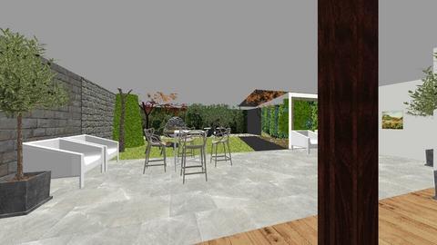 Serre met buiten - Kitchen - by IreneOosterhout