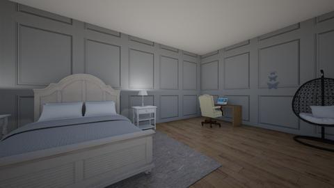 BRONWYNS ROOM - Modern - Bedroom  - by perro08