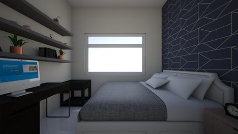 final room 9 - Bedroom - by ishan1