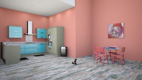Kitchen - Modern - Kitchen  - by designkitty31
