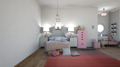 Pretty Pretty Pink - Modern - Bedroom  - by matildabeast