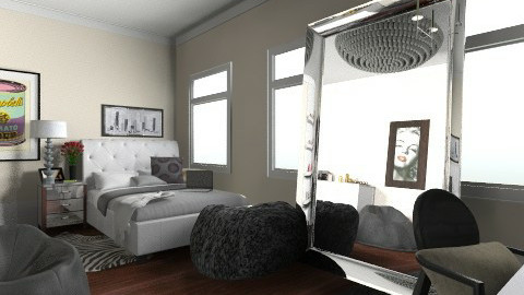 Apartment - Glamour - Bedroom  - by colleenod25