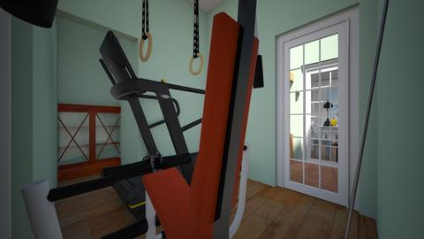 new home gym - Country - Office  - by Stephanie Felix