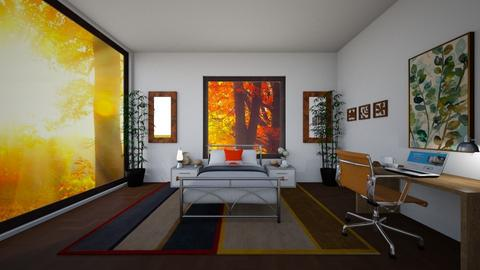 Fall season room - Bedroom  - by Puppylover5673