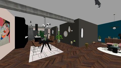 Modern Eclectic Interior - Living room - by Fleur Hogenes