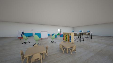Classroom - Modern - by mollyevemoo