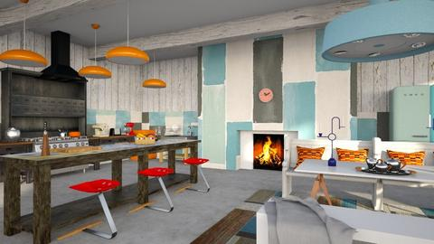 Bohemian kitchen - Eclectic - Kitchen  - by kitty