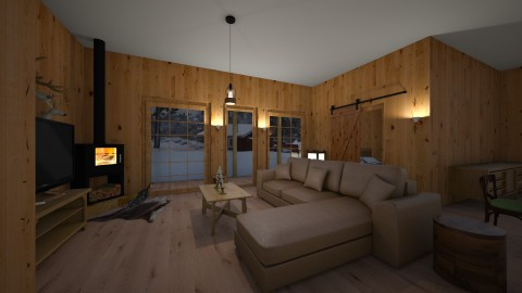 log cabin - by ned31