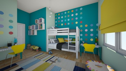 KidsJustWannaHaveFun - Kids room  - by majlena95