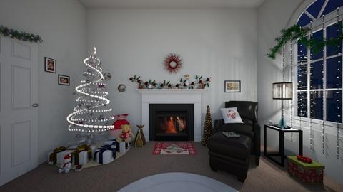 Happy Holidays - Modern - Living room  - by Irishrose58