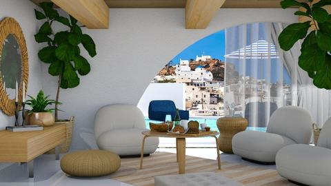 Greece - Living room  - by Teigh Lynn