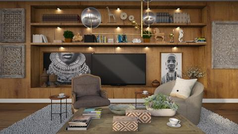 455 - Modern - Living room  - by Claudia Correia
